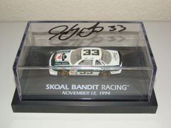 "1994 Revell Club 1/64 #33 Skoal Bandit ""Last Ride"" Chevy Lumina Harry Gant CWC AUTOGRAPHED"