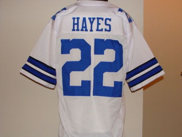 best website 7b010 28f4e #22 BOB HAYES Dallas Cowboys NFL WR White Throwback Jersey