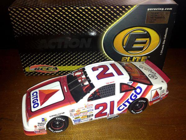 2001 Elite 1/24 #21 Citgo 1991 Ford Tbird Dale Jarrett CWC