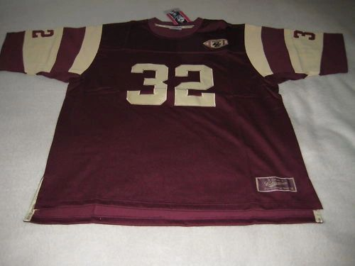 #32 Boston College Eagles NCAA Football Red Mint Throwback Team Jersey