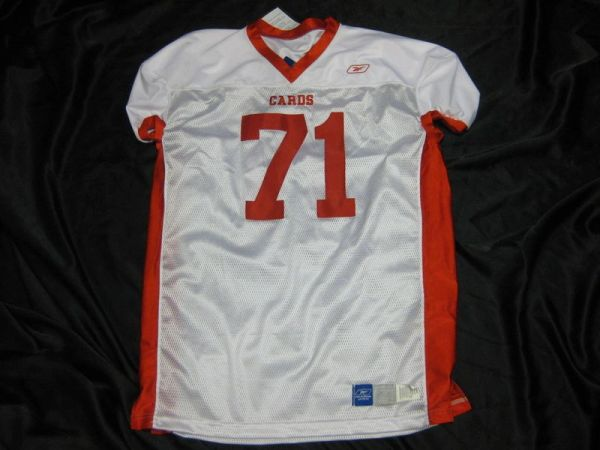 #71 BALL STATE Cardinals NCAA Football White Mint Throwback Jersey