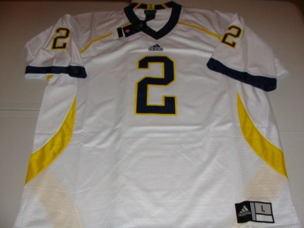 check out 811b1 b55bc #2 CHARLES WOODSON Michigan Wolverines NCAA CB/PR/WR White Mint Throwback  Jersey