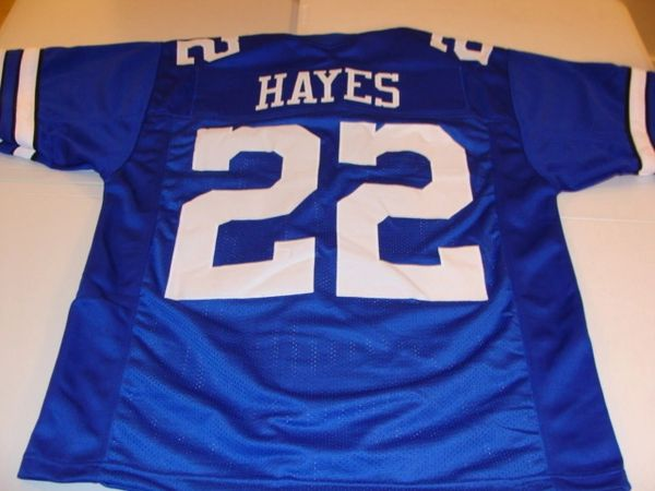 outlet store 05f7b b5f10 #22 BOB HAYES Dallas Cowboys NFL WR Blue Throwback Jersey