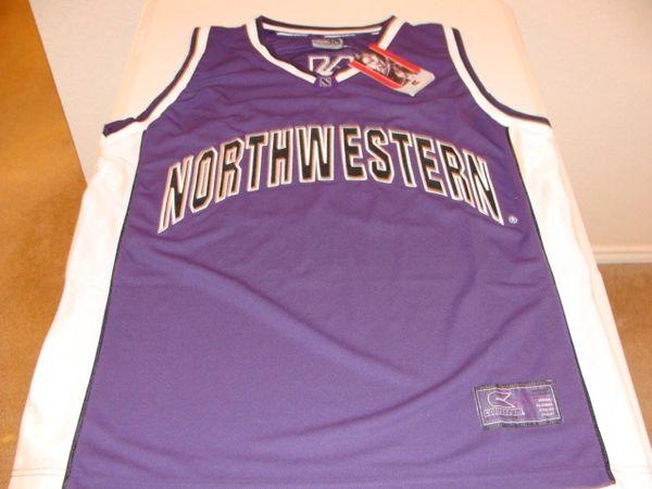 #30 NORTHWESTERN Wildcats NCAA Basketball Purple Throwback Team Jersey