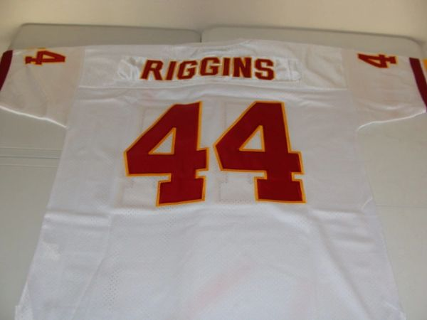 size 40 b6adb d6feb #44 JOHN RIGGINS Washington Redskins NFL RB White Mint Throwback Jersey
