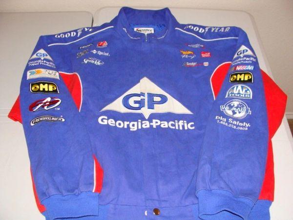 #44 GEORGIA PACIFIC Petty Enterprises Dodge NASCAR Team Blue Racing Jacket