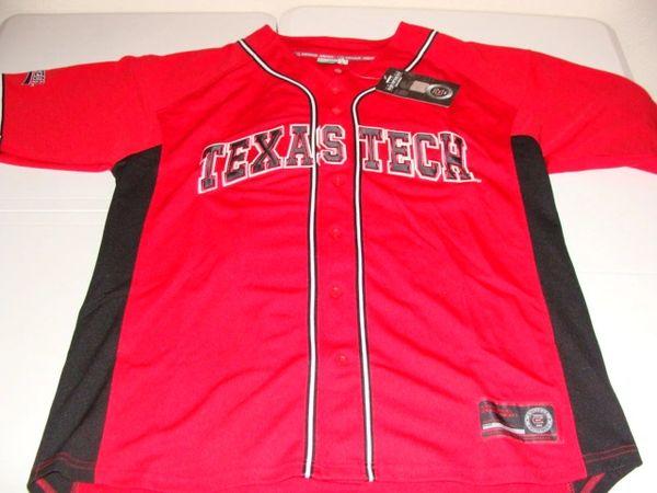 #33 TEXAS TECH Red Raiders NCAA Baseball Red Mint Throwback Team Jersey
