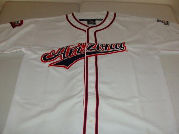 ARIZONA Wildcats NCAA Baseball White Throwback Team Jersey