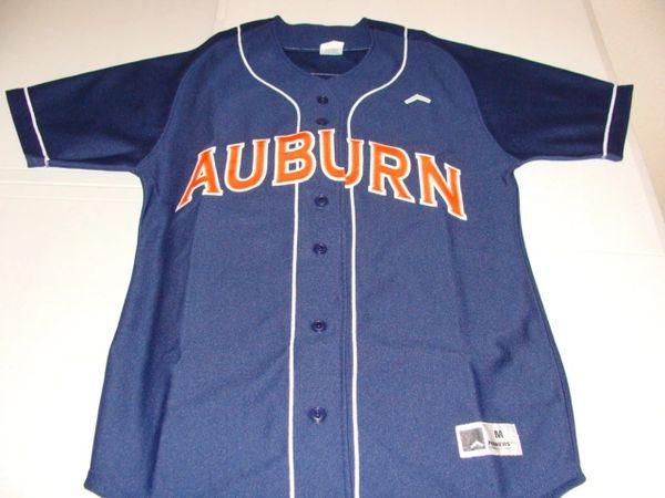 #3 AUBURN Tigers NCAA Softball Blue Throwback Jersey