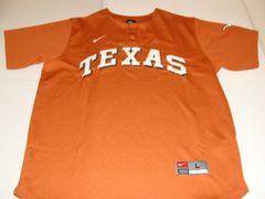 TEXAS Longhorns NCAA Baseball Orange Throwback Team Jersey