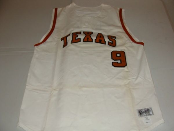 #9 TEXAS Lady Longhorns NCAA Softball White Throwback Vest Jersey