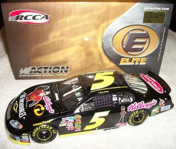 "2004 Elite 1/24 #5 Kellogg's ""The Incredibles"" Chevy MC Terry Labonte CWC"
