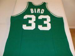 #33 LARRY BIRD Boston Celtics NBA Forward Green S-K Throwback Jersey