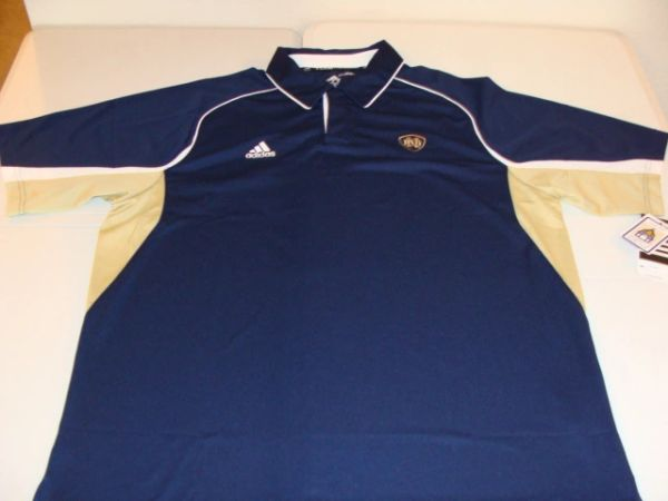 NOTRE DAME Fighting Irish Team Blue/Gold Men's Polo Shirt