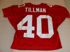 #40 PAT TILLMAN Arizona Cardinals NFL Safety Red Throwback Youth Jersey