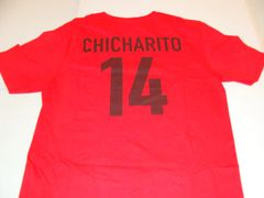 #14 Javier CHICHARITO Hernandez Manchester United EPL Striker Red Throwback Tshirt