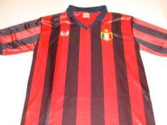 #7 ITALY (AC Milan) UEFA Football Red/Black Throwback Jersey