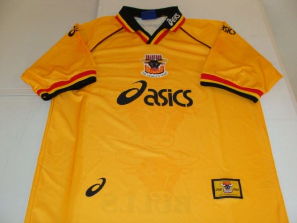 BRADFORD Bulls English Rugby League Yellow Throwback Team Jersey