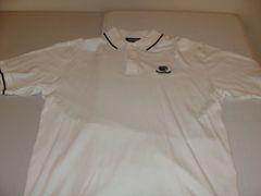 PENN STATE Nittany Lions NCAA White Throwback Polo Shirt