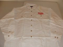 WINSTON Thunder Theater Staff White L/S Button Down Mint Dress Shirt