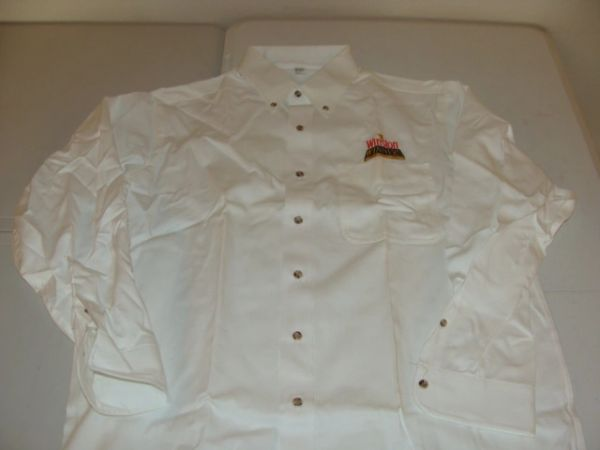 WINSTON Winners Club White L/S Button Down Mint Dress Shirt