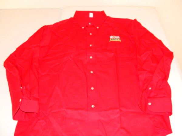 WINSTON Winners Club Red L/S Button Down Mint Dress Shirt