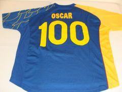 #100 OSCAR Rojas? Club America Liga MX Defender Blue Throwback Uniform Kit AUTOGRAPHED