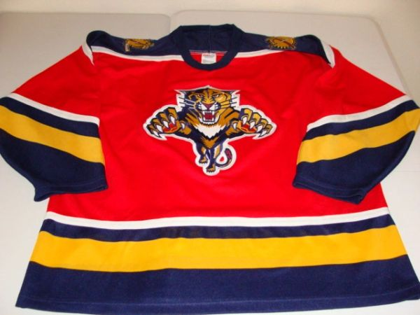 FLORIDA Panthers NHL Red Throwback Team Jersey