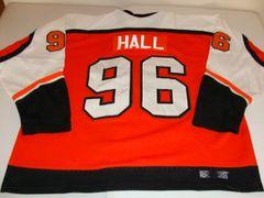 #96 HALL Philadelphia Flyers NHL Orange Throwback Jersey