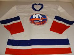 NEW YORK Islanders NHL White Throwback Team Jersey