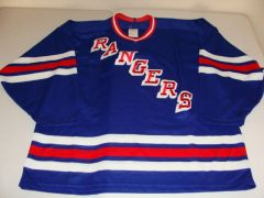 NEW YORK Rangers NHL Blue Throwback Team Jersey