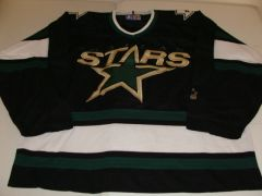 DALLAS Stars NHL Black Throwback Team Jersey Starter Brand