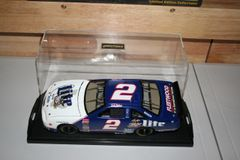 1997 Elite 1/24 #2 Miller Lite Texas Race Ford Thunderbird Rusty Wallace CWC AUTOGRAPHED