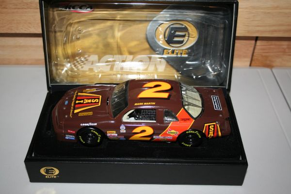 2003 Elite 1/24 #2 SAI Roofing 1987 ASA Ford Thunderbird Mark Martin CWC
