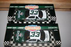 1995 Ertl 1/18 #33 Skoal Bandit 1994 Chevy Lumina Harry Gant CWC AUTOGRAPHED