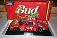 "1997 Revell 1/18 #25 Budweiser Beer ""Louie the Lizard"" Chevy MC Ricky Craven CWC"