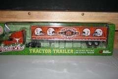 2006 Ertl DCP 1/64 University of Texas Longhorns Football 4X National Champions Tractor Trailer Set