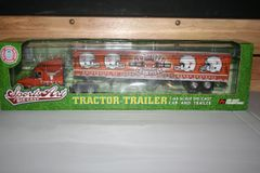 2006 Ertl DCP 1/64 University of Texas Longhorns Football 4X National Champions Tractor Trailer Diecast