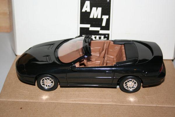 1995 AMT Ertl 1/25 Chevy Camaro Z28 Black Convertible CWC
