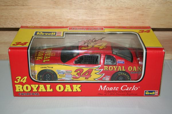 1997 Revell 1/24 #34 Royal Oak Charcoal BGN Chevy MC Mike McLaughlin CWC AUTOGRAPHED
