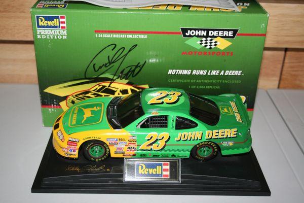 1996 Revell 1/24 #23 John Deere BGN Pontiac GP Chad Little DWB AUTOGRAPHED