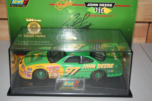 1997 Revell 1/24 #97 John Deere Pontiac GP Chad Little CWC AUTOGRAPHED