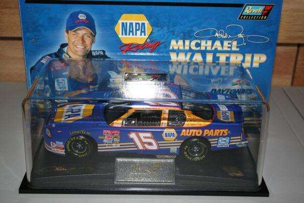 "2001 Revell 1/24 #15 NAPA Auto Parts ""Daytona 500 Win"" Chevy MC Michael Waltrip CWC"