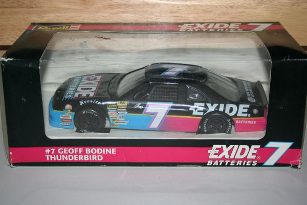 1994 Revell 1/24 #7 Exide Batteries Ford Tbird Geoff Bodine CWC