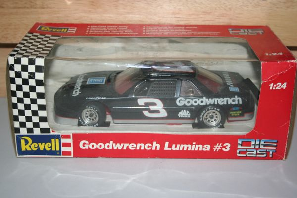 1991 Revell 1/24 #3 GM Goodwrench Chevy Lumina Dale Earnhardt CWC