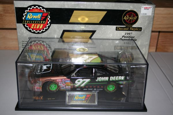 "1997 Revell 1/24 #97 John Deere ""160th Anniversary"" Pontiac GP Chad Little CWC AUTOGRAPHED"