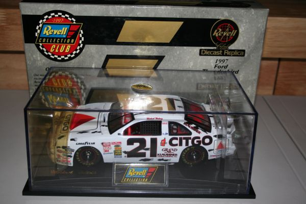 "1997 Revell 1/24 #21 Citgo ""Top Dog"" Ford Tbird Michael Waltrip CWC"
