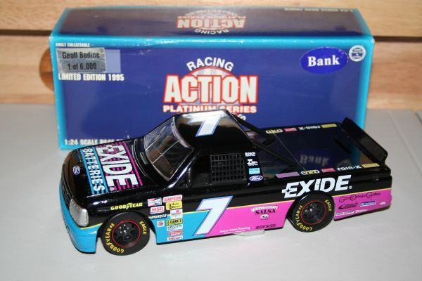 1995 Action 1/24 #7 Exide Batteries Ford Truck Geoff Bodine CWB