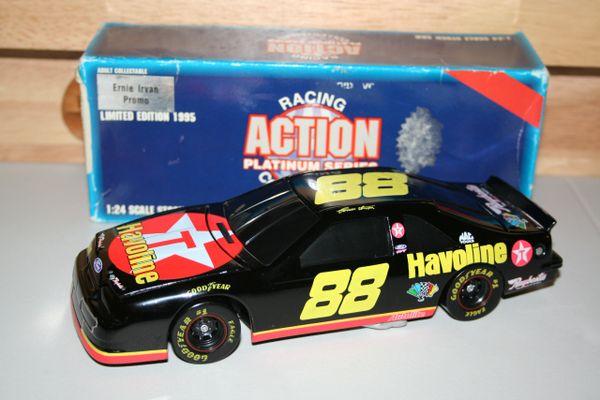 1995 Action 1/24 #88 Texaco Havoline Ford Tbird Ernie Irvan BWC Promo