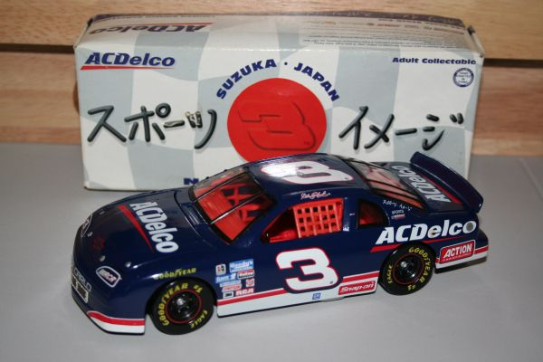 1996 Action 1/24 #3 AC Delco Japan Race Chevy MC Dale Earnhardt CWC